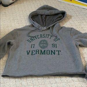 Cropped sweatshirt UVM